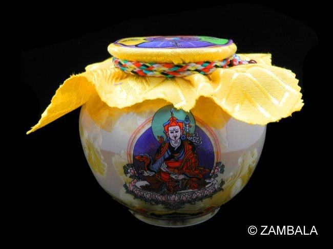 Guru Rinpoche Blessed Treasure Vase S Dharma Items Buddhist Artifacts