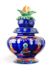 Medicine Buddha Blessed Treasure Vase
