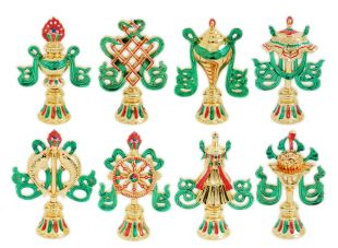 8 Auspicious GP set 4""