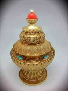 Brass Rice pot Neshi