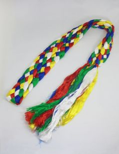 5 color knotted katag (L)